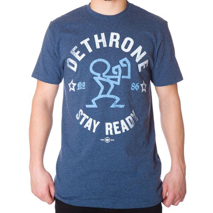 dethrone-stay-ready-tee-blue