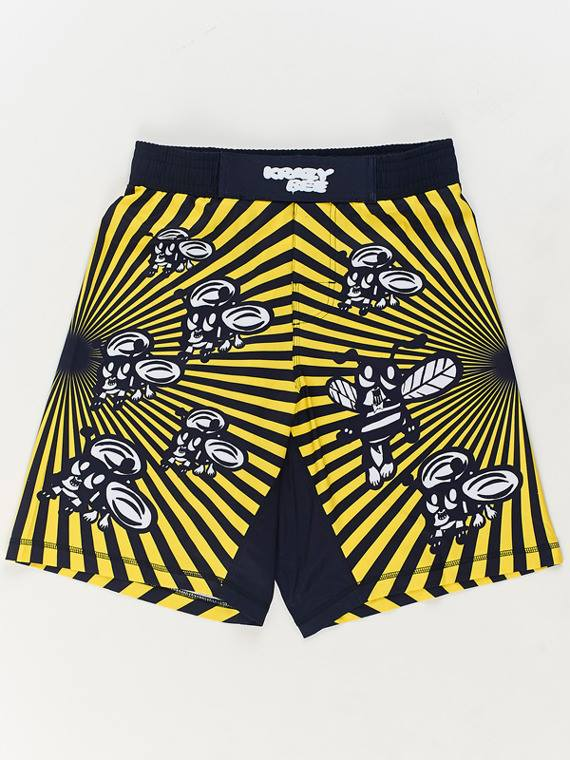 manto-skoloct-krazy-bee-shorts-yellow-1
